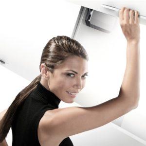 Sisteme ridicare usi mobilier (lifturi)