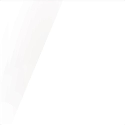 Fronturi Acryl High Gloss-alb